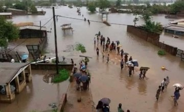 Flood damage in Malawi where Concern is responding to the emergency