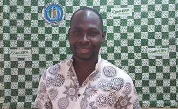 Salissou Harouna has been working with Concern in Niger since 2004. Photo: Concern Worldwide.