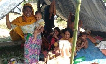 Rohingya refugees. Photo: Concern Worldwide