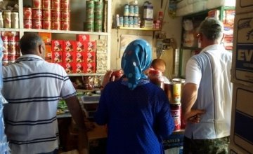 Inside a shop in Syria. Photo: Concern Worldwide.
