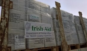 Irish Aid and Concern Worldwide provides emergency aid to Somalia. Photo: UNHRD/Concern Worldwide.