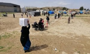 As part of the response to Covid-19, Concern Syria have begun distributing hygiene kits in Northern Syria Photo: Concern Worldwide.