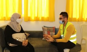 Concern has been providing Psycho-social support to vulnerable women following the Port explosion in Beirut.
