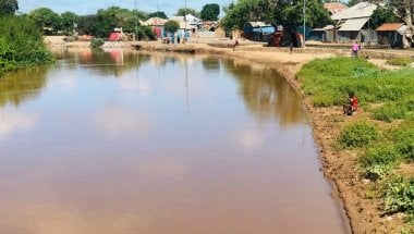 Flooding at the Shabelle river in Somalia. Photo: SHACDO