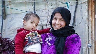 Rana and her family. Photo: Gavin Douglas / Concern Worldwide
