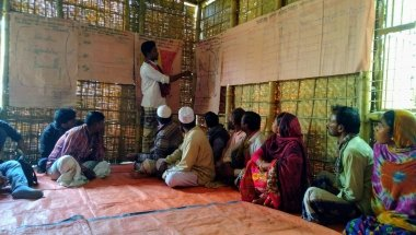 Community resilience action group Bangladesh Zurich Flood Resilience Alliance