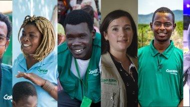 World humanitarian Day Banner: Photo: Concern Worldwide.