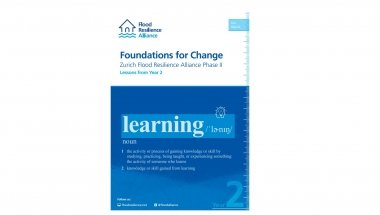 Foundations for Change: Zurich Flood Resilience Alliance Phase II Lessons from Year 2