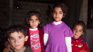 Young Syrian children. Photo: Concern Worldwide.