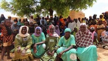 Mama Lumiere community health worker group in Tahoua, Niger. Photo: Jennifer Nolan/Concern Worldwide.