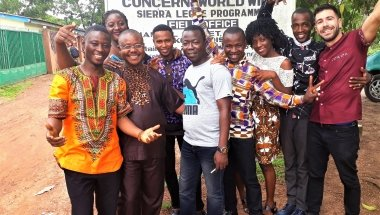 My experience volunteering with Concern in Sierra Leone