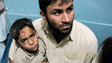 Victims of the earthquake in Afghanistan. Photo; Concern worldwide.