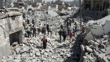 The destruction of Aleppo: political games must end