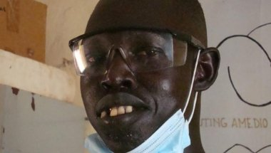 Taban, who works as a midwife in South Sudan. Photo: Concern Worldwide