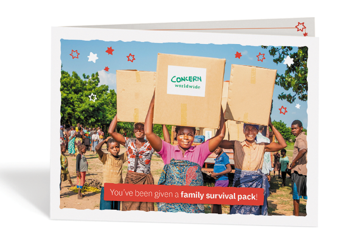 Concern Gift Card Family Survival Pack