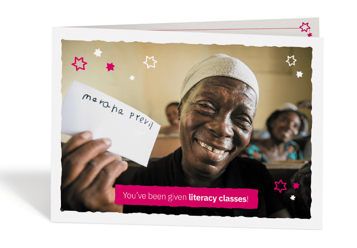 Concern Gift Card literacy classes