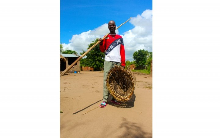 Grey Lyson, 32, transformed his family's life with his fishing business in Malawi. Photo: Jason Kennedy / Concern Worldwide