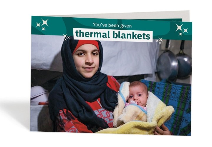 Gifts / thermal blankets