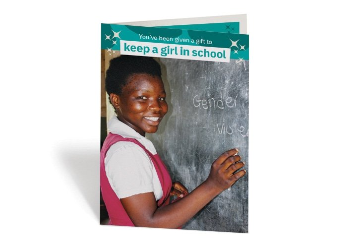 gift - keep a girl in school