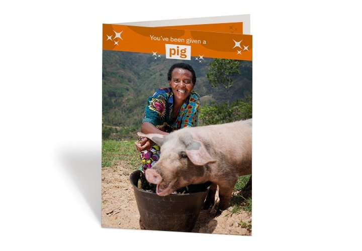 2020 gifts - pig