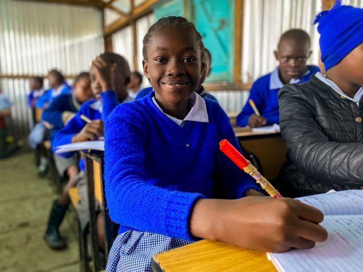 Thanks to Concern, Grace now attends Gatoto Community School. Photo: Jennifer Nolan / Concern Worldwide