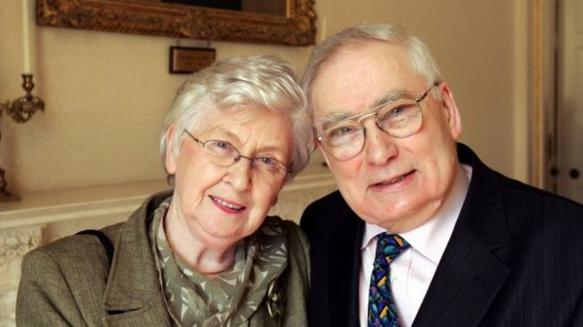 Kay and John O'Loughlin Kennedy, co-founders of Concern Worldwide.