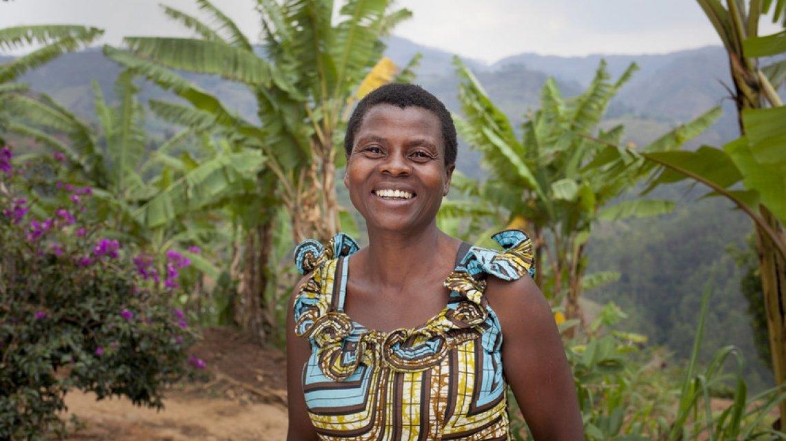 Jeannette Icimanishatse, a Community Health Worker in Burundi.