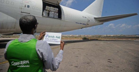 Irish Aid and Concern Worldwide provide emergency aid to Somalia. Photo: Mohamed Abdiwahab / Concern Worldwide.