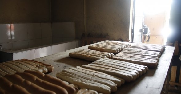 The bakery (supported by Concern) that opened in May. It employs 33 women who were trained in baking and nutrition. Photo: Kristin Myers / Concern Worldwide.