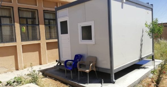New isolation unit at a Health centre in northern Syria. Photo: Concern Worldwide