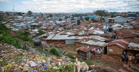 Kibera in Nairobi is Africa's largest urban slum.