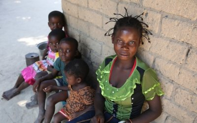 Mama Kabula (16) of Mulombwa village in Manono territory, DRC. Photo: Concern Worldwide.