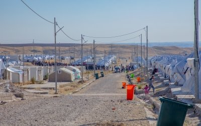 A refugee camp in north-west Iraq. Photo: Gavin Douglas/Concern Worldwide.