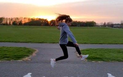 Sophie's Long Jump