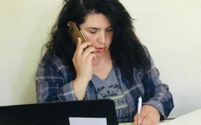 Siba Bizri, Concerns Case Management Officer. Photo: Concern Worldwide.