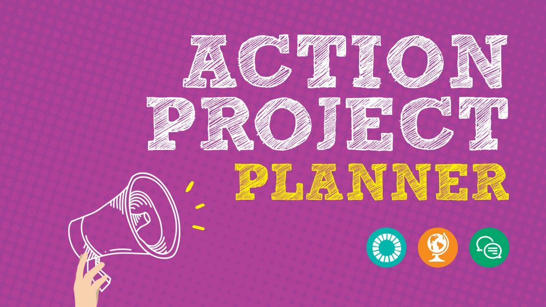 Action Project Planner resource. Photo: Concern Worldwide.