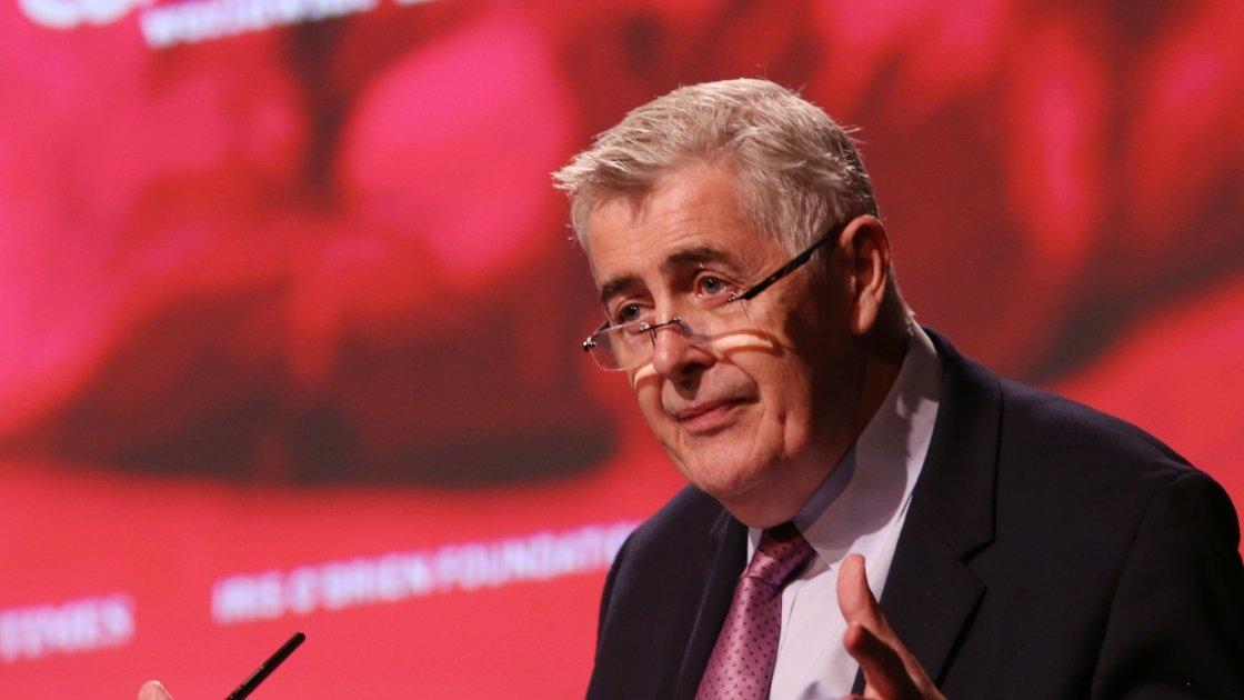 Concern CEO Dominic MacSorley speaks at Dublin Castle. Photo: Photocall Ireland.