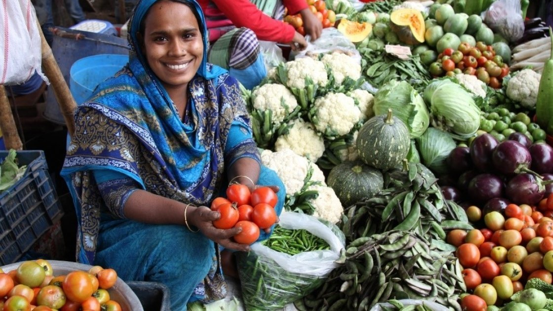 Rina from Bangladesh received support from Concern to start a small business. Photo: Concern Worldwide.