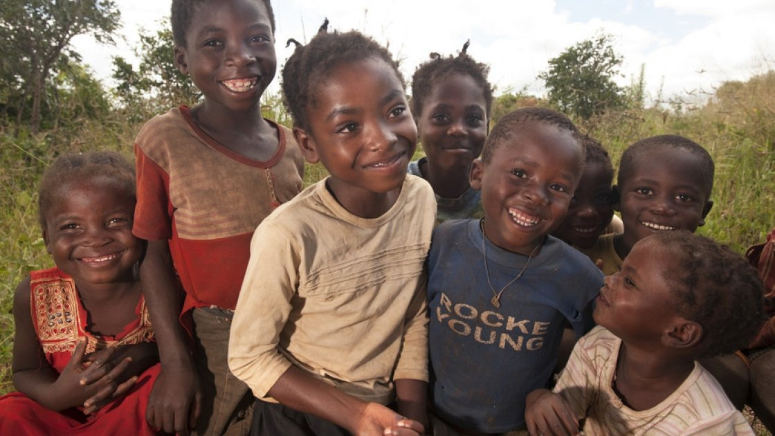 Children of the RAIN Project in Zambia