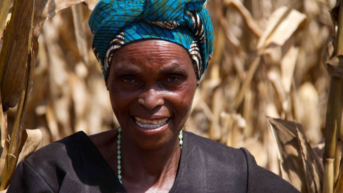 Doris Malinga on conservation agriculture in Malawi