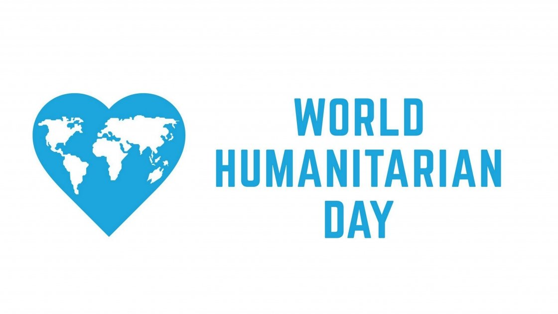World Humanitarian Day Logo. Photo: United Nations.