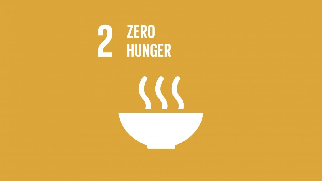 Goal two of the global goals: getting to zero hunger.