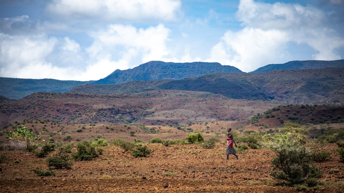The landscape of Turkana, North Kenya. Photo: Gavin Douglas / Concern Worldwide.