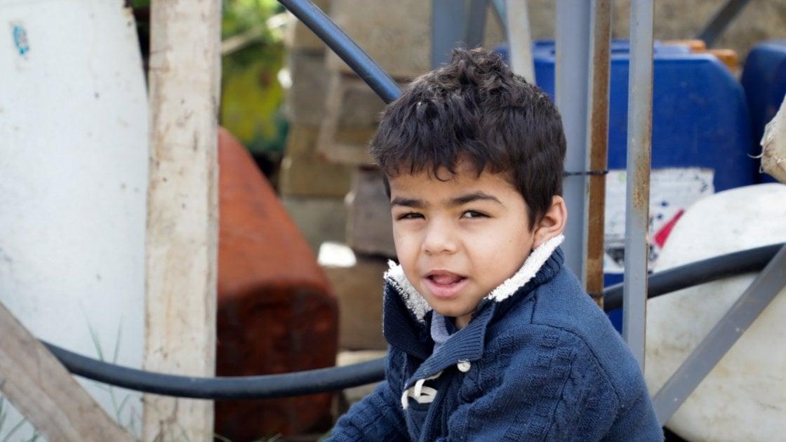 Rana's four-year-old son Hassan. Photo: Gavin Douglas / Concern Worldwide.