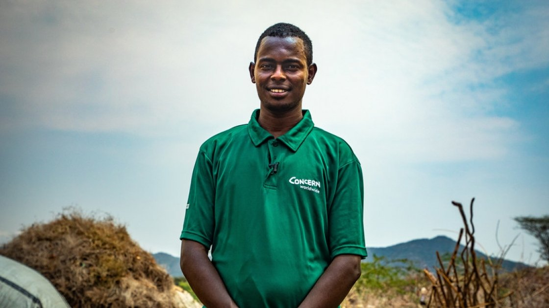 Giro Dima, a health & nutrition officer in Turkana, northern Kenya. Concern is operating outreach programmes to help isolated communities suffering the effects of drought. Photo: Concern Worldwide.