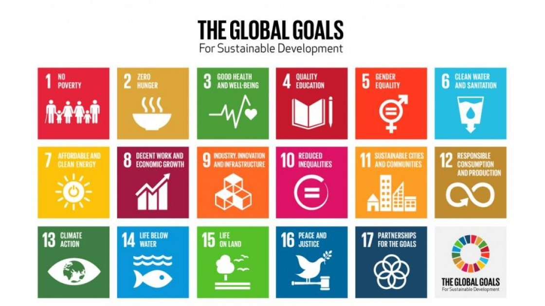 Sustainable Development Goals 2015. Image created by the United Nations.
