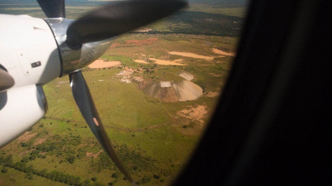 A large industrial mine in the interior of DRC. Resources have been one of the biggest causes of conflict. Photo: Kieran McConville / Concern Worldwide