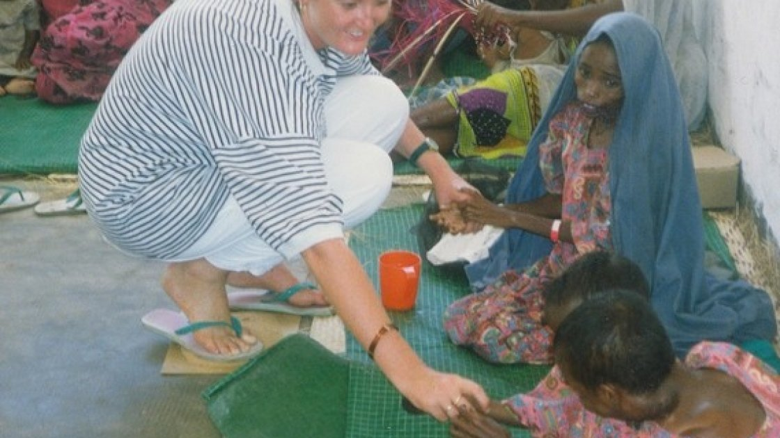 Nurse Valerie Place, who was tragically killed in Somalia in 1993. Photo: Concern Worldwide