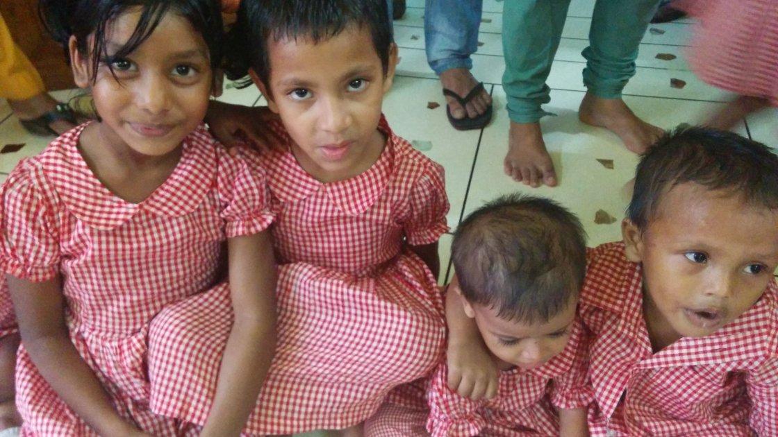 Children at the Pavement Dweller Centre in Karwan Bazar, Bangladesh. Photo credit: Concern Worldwide.