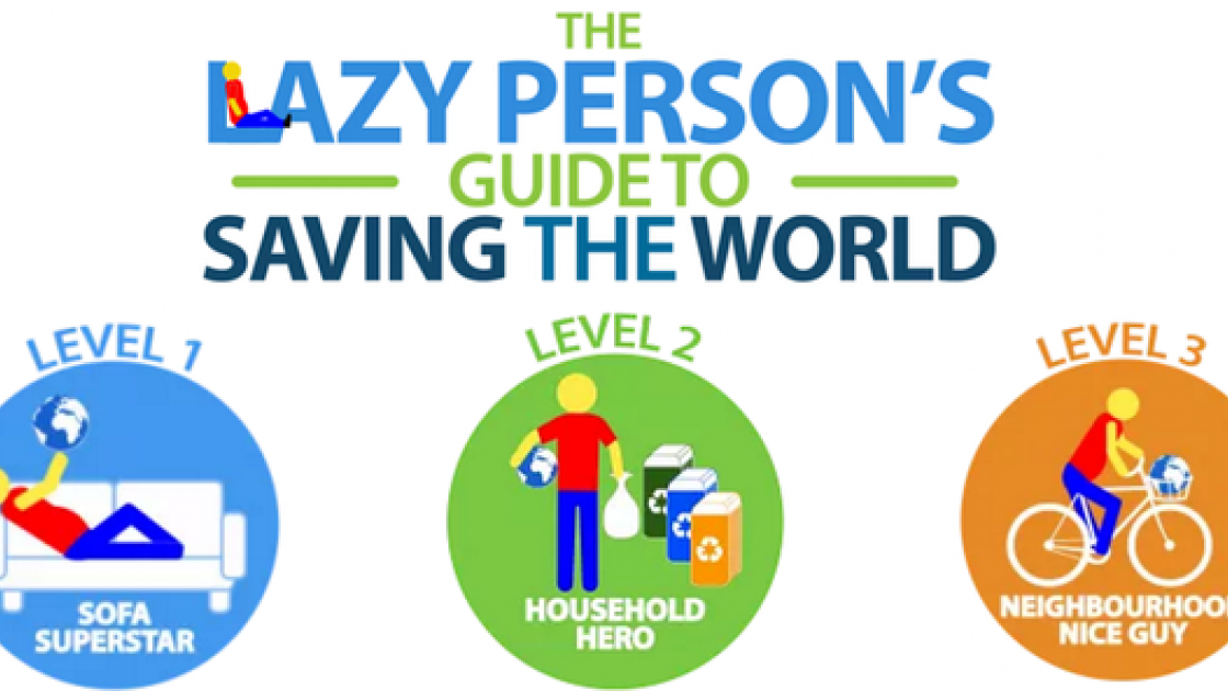 Every human on earth – even the most indifferent, laziest person among us – can contribute to ending global poverty. Reading UN's Lazy Person's Guide to Saving the World is a great place to start.  part of the solution. Source: UN http://www.un.org/sustainabledevelopment/takeaction/